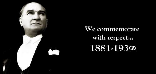 10 November 1938 Atatürk
