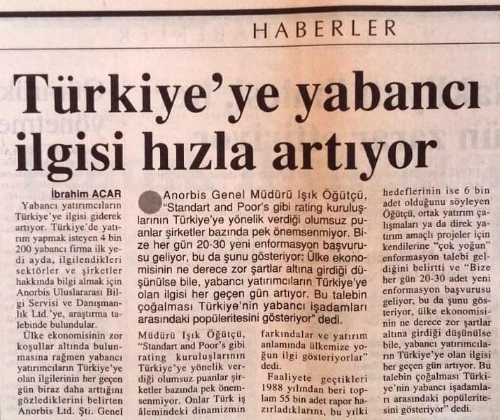 12 8 1996 Dünya Gazetesi Haberi
