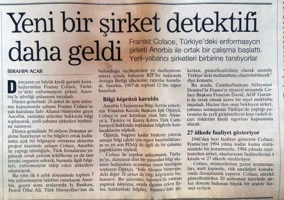 23 Temmuz 1998 Yeni Yüzyıl Gazetesi Haberi